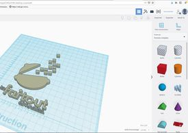 Animation Tinkercad des Mercre'Geeks